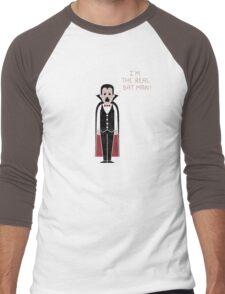 Monster Issues - Dracula Men's Baseball ¾ T-Shirt