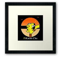 PiKarate Chu Framed Print