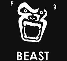 Instinct - Black & White Gorilla Beast Unisex T-Shirt