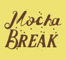 Mocha Break Kids Tee