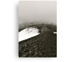 Looking Back on Cotopaxi Canvas Print
