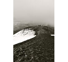 Looking Back on Cotopaxi Photographic Print
