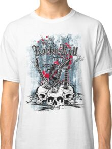 Skull - Rock and Roll Classic T-Shirt