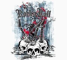 Skull - Rock and Roll Unisex T-Shirt