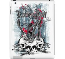 Skull - Rock and Roll iPad Case/Skin