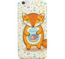 Dreaming fox iPhone Case/Skin