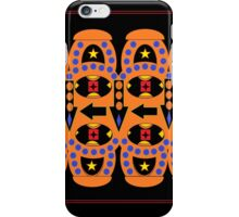 Flow Chart Orange iPhone Case/Skin
