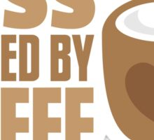 BOSS powered by Coffee Sticker