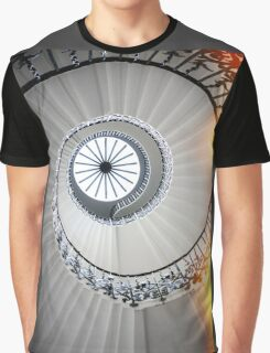 Spinning Staircase Graphic T-Shirt