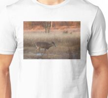 Sunset Wanderer - White-tailed deer Unisex T-Shirt