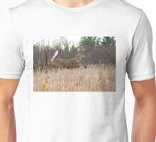 Taking Flight - White-tailed Buck Unisex T-Shirt