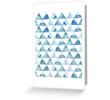 Geometric Pattern Greeting Card