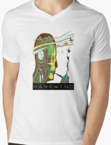 Hawkwind Merry Go Head Mens V-Neck T-Shirt