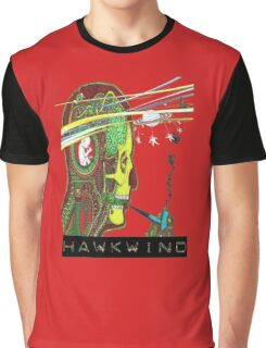 Hawkwind Merry Go Head Graphic T-Shirt