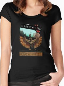 Hawkwind egypt Women's Fitted Scoop T-Shirt