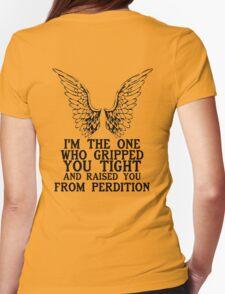 [SPN] Castiel Womens Fitted T-Shirt