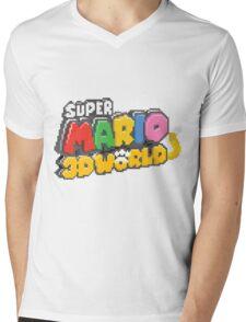 Super Mario 3D World Mens V-Neck T-Shirt