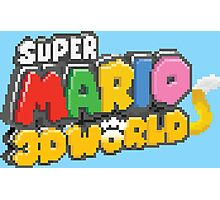 Super Mario 3D World Photographic Print