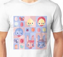 Happy Easter! Pattern Unisex T-Shirt