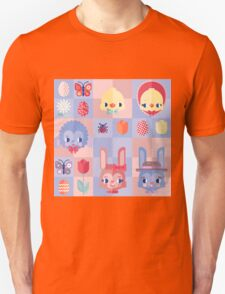 Happy Easter! Pattern T-Shirt