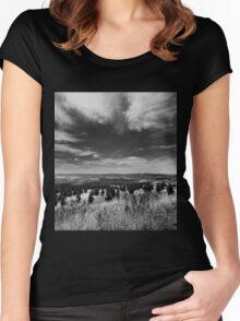 Channeling Ansel Adams Women's Fitted Scoop T-Shirt