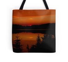 Sunset on Brewer Lake, Algonquin Park Tote Bag