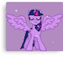 Princess Twilight Pixel Art Canvas Print