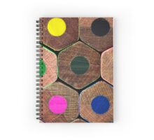 Coloured pencils  Spiral Notebook
