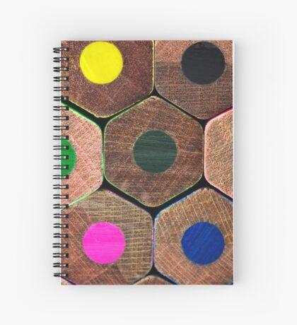 Coloured pencils  Spiral Notebook