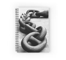Anchor chain Spiral Notebook