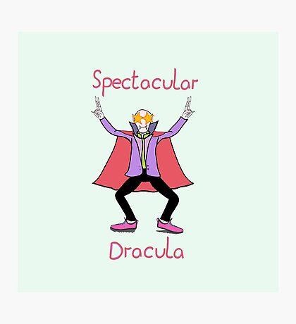 Spectacular Dracula Photographic Print