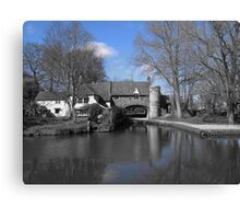 Pulls Ferry, Norwich ( Blue version ) Canvas Print
