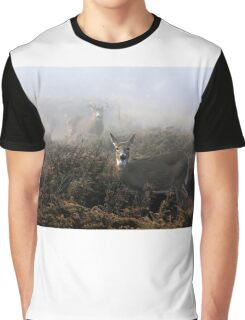 The rut is on! - White-tailed deer  Graphic T-Shirt