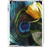 Peacock's Rose iPad Case/Skin
