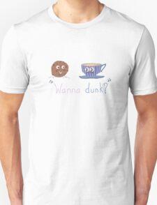 Wanna dunk? Unisex T-Shirt
