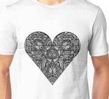 Ink Black Heart Unisex T-Shirt