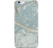 Firenze Map (Winter) iPhone Case/Skin