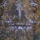 Manjushri Lion detail  by Ti Campbell-Allen
