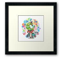 Caterpillar - Alice's Adventures in Wonderland Framed Print