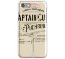 Captain Cupid iPhone Case/Skin