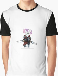 Zed, master of shadows My little Pony Graphic T-Shirt
