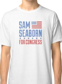Sam seaborn for congress  Classic T-Shirt