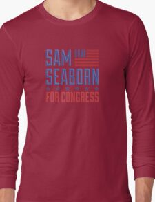 Sam seaborn for congress  Long Sleeve T-Shirt