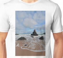 White Clouds above Sango Bay Unisex T-Shirt