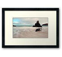 Long exposure on Sango Bay Framed Print