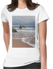 After the Rainbow on Sango Bay Womens Fitted T-Shirt