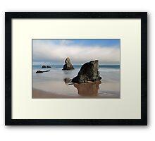 Giants on Sango Bay Framed Print