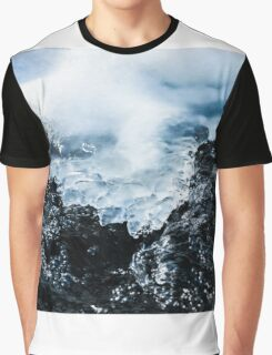 Frozen and Flowing Graphic T-Shirt