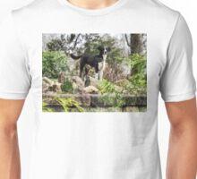 Terrier Standing Guard Unisex T-Shirt