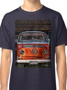 HDR Orange Volkswagen mini van Classic T-Shirt